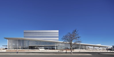 Buddy Holly Hall of Performing Arts and Sciences | Sports halls | Diamond Schmitt Architects