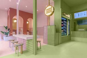 Bun Turin | Restaurant interiors | Masquespacio
