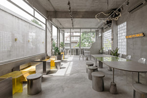 Yama Coffee Shop | Café interiors | KSOUL Studio