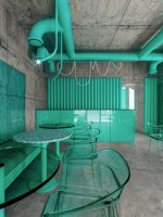 In Harmony with Nature Cafe | Café interiors | Reutov Design