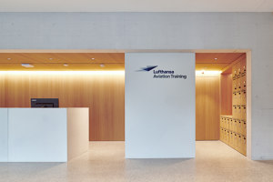 Learn to fly with Dade Design and Lufthansa | Manufacturer references | Dade Design AG concrete works Beton