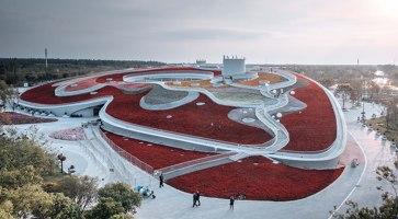 Century Pavilion for 10th China Flower Expo | Trade fair & exhibition buildings | Ecadi
