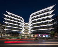 The Orbit Urban Office Campus | Office buildings | Danilof Light + Visual Perception Studio