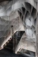 New Interior for Casa Batlló Stairs & Atrium | Installations | Kengo Kuma