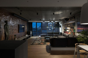 The Mod Apartment   Living space   Sergey Makhno Architects