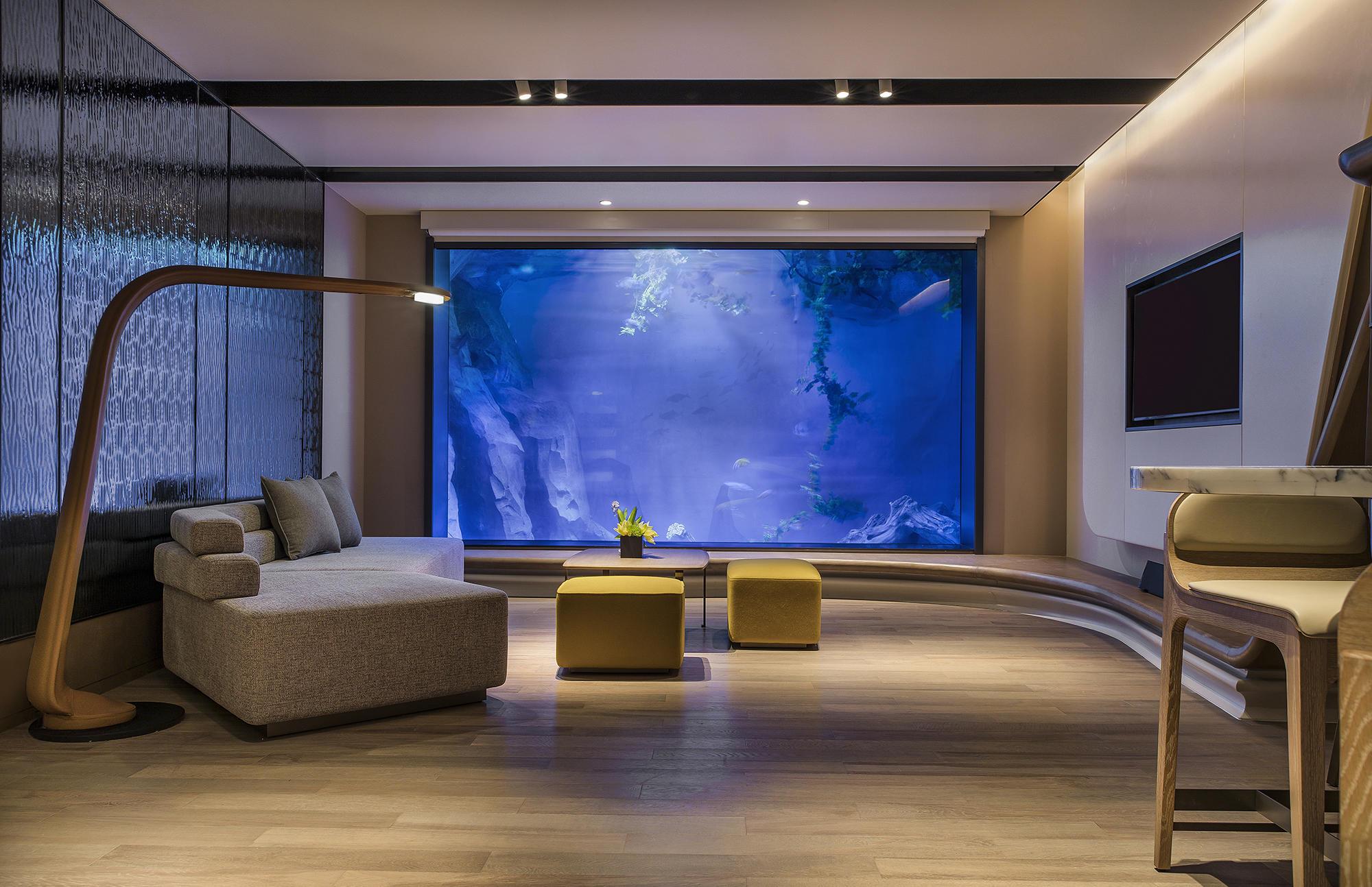 Intercontinental Shanghai Wonderland Hotel De Ccd Cheng Chung Design Interieurs D Hotel
