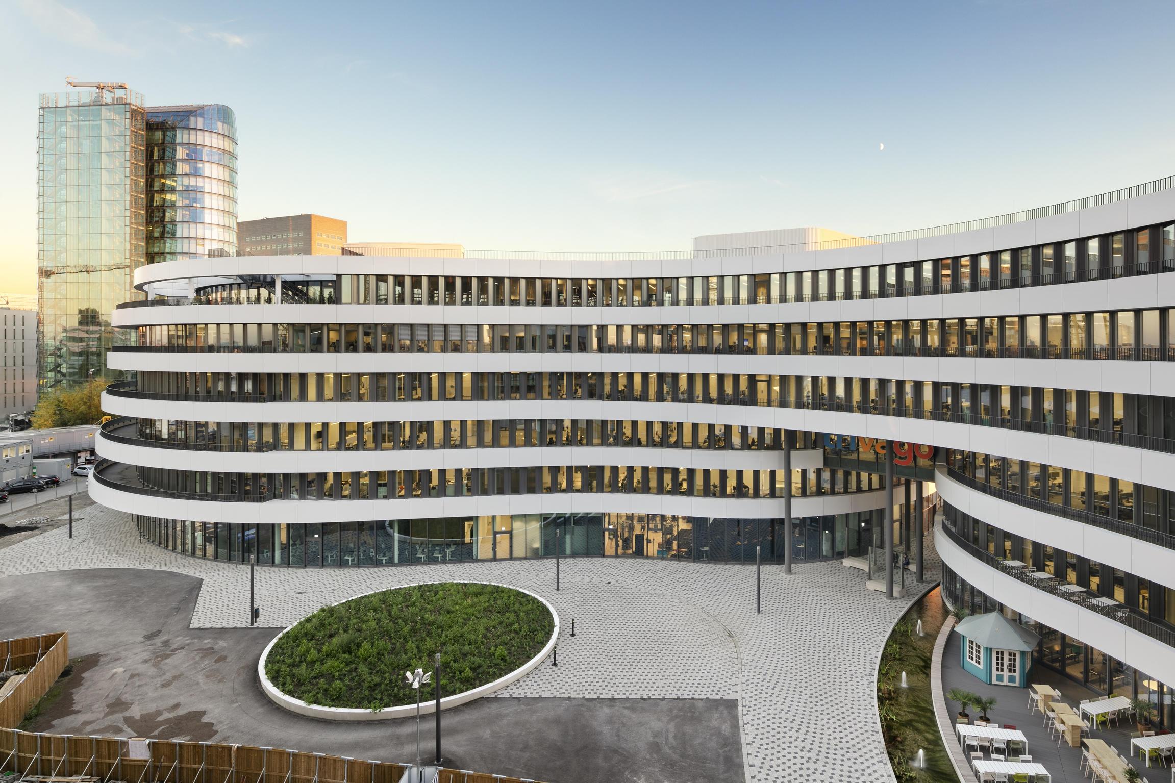 trivago headquarter d sseldorf by slapa oberholz pszczulny sop architekten office buildings