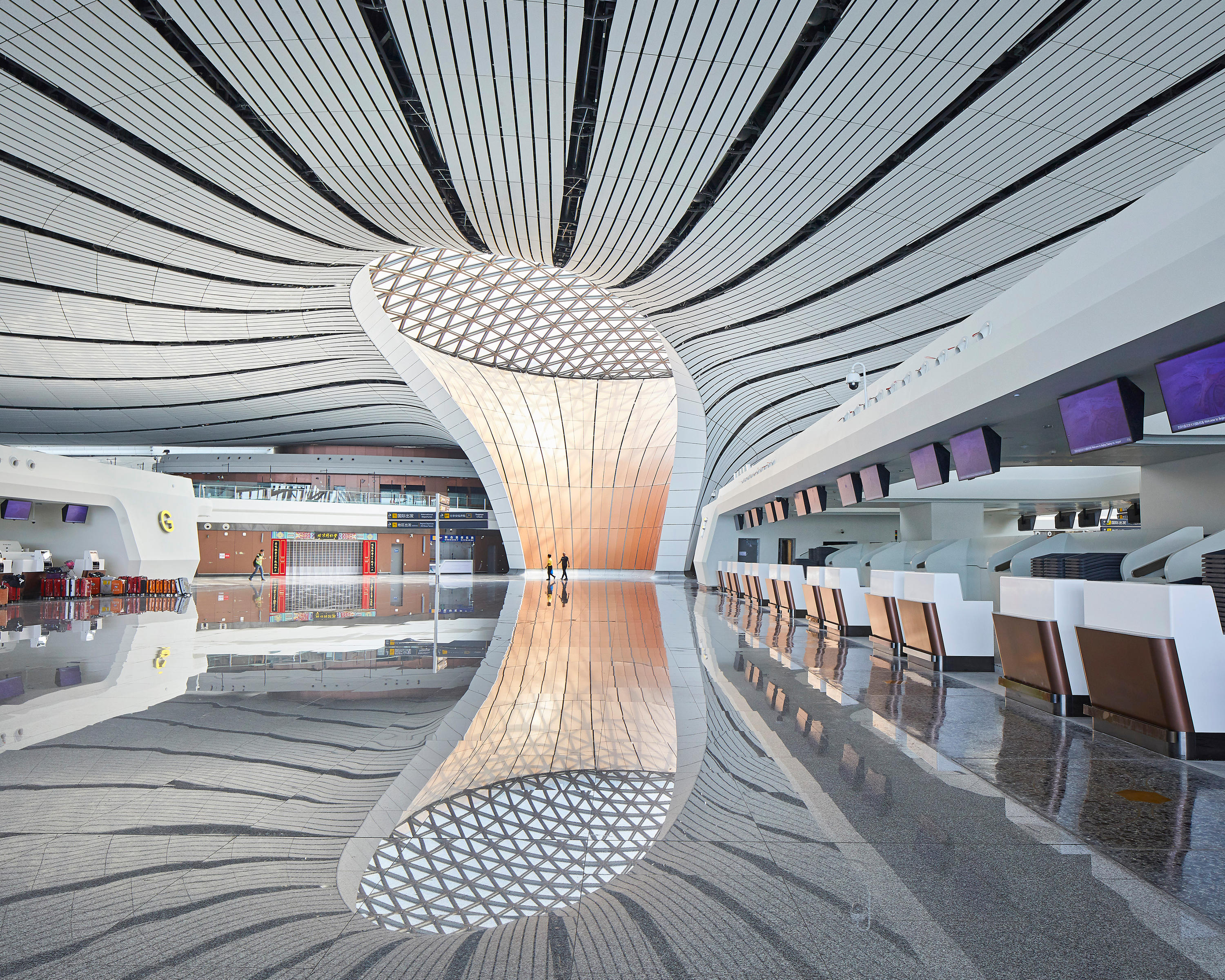Beijing Daxing International Airport By Zaha Hadid