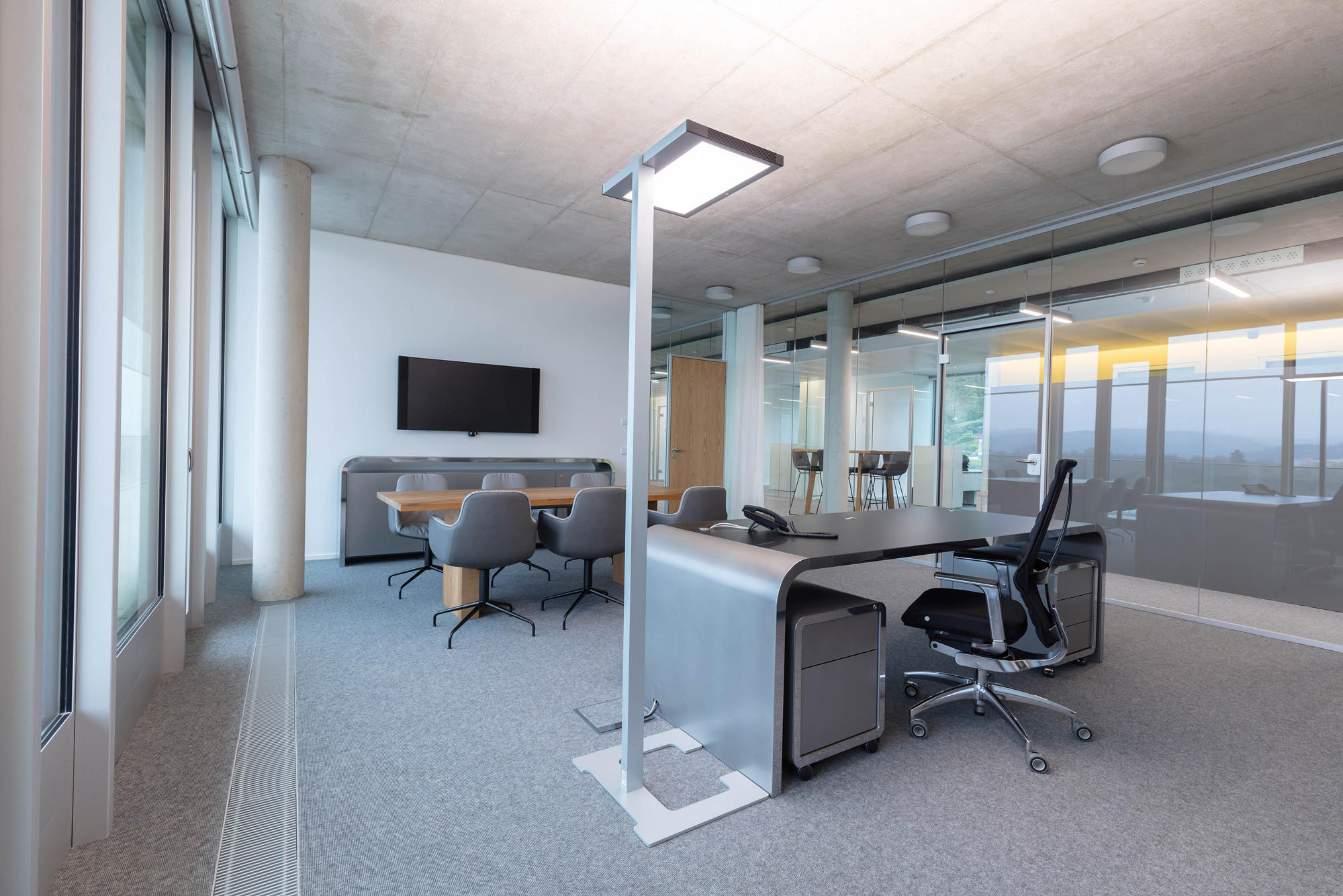 Employee Focused Lighting Solution At Medice By Luctra