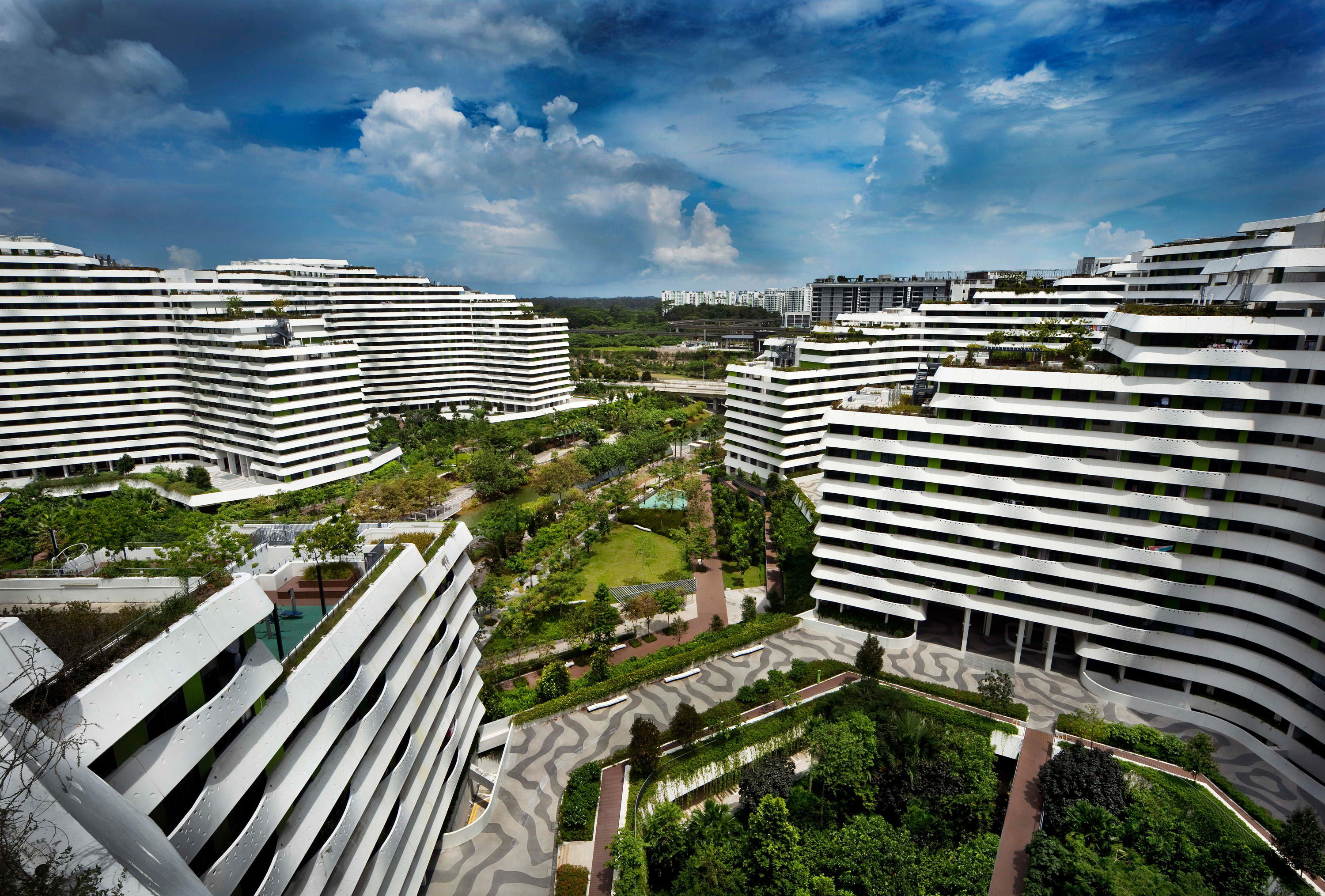 Punggol Waterway Terraces by G8A Architecture & Urban Planning ...