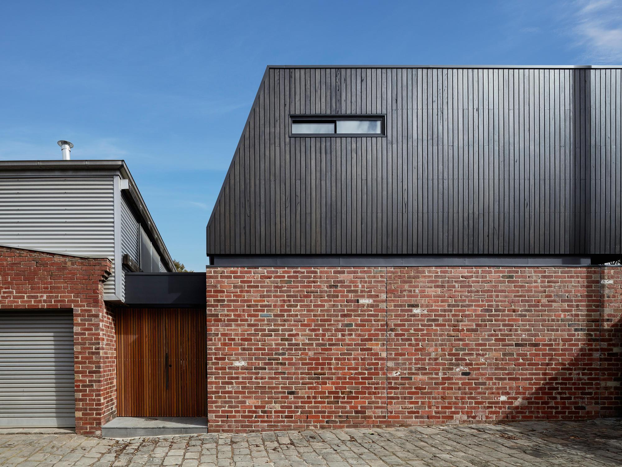 Garden Wall House Von Sarah Kahn Architect Einfamilienhauser