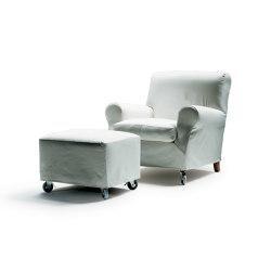Nonnamaria Armchair | Footstool | Armchairs | Flexform