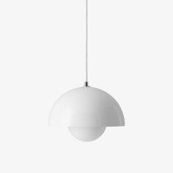 Flowerpot VP1 White | Suspended lights | &TRADITION
