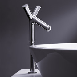 AXOR Starck 2-Handle Basin Mixer for wash bowls DN15 | Wash basin taps | AXOR