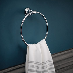 AXOR Montreux Towel Ring | Towel rails | AXOR