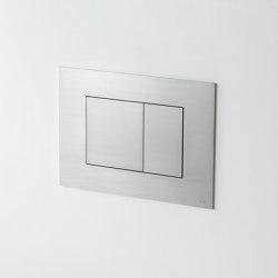 A85 - Dual flush plate | Flushes | VOLA