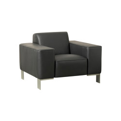 Finch Metal armchair | Sessel | Casala