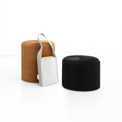 softseating fanning stool + bench | Poufs | molo
