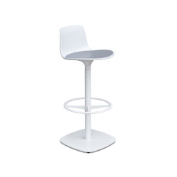 Lottus stool central base | Bar stools | ENEA