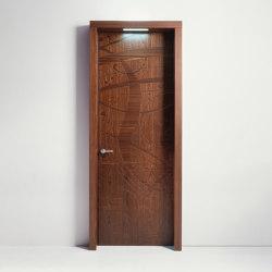 Graffiti | Hinged Door Lettera | Internal doors | Laurameroni