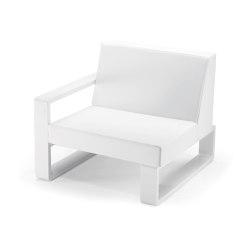 Kama | Right Club Armchair | Armchairs | EGO Paris