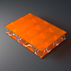 clear-PEP® UV satin orange   Synthetic panels   Design Composite