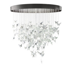 Re-cyclos Niagara Chandelier 2m (CE/UK) | White | Suspensions | Lladró