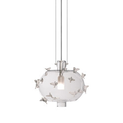 Re-cyclos Freeze Frame Birds Ceiling Lamp (CE) | Suspensions | Lladró