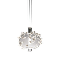 Re-cyclos Freeze Frame Butterflies Ceiling Lamp (CE) | Suspensions | Lladró