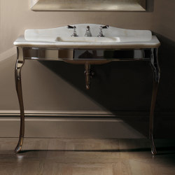 Jacqueline Ceramic Console | Wash basins | Devon&Devon