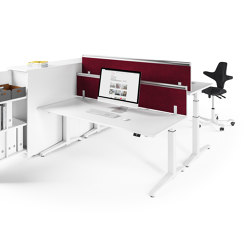 Canvaro Desk | Contract tables | Assmann Büromöbel