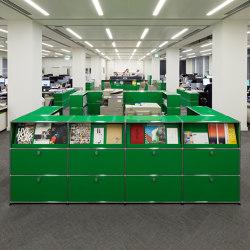 USM Haller Credenza | USM Green | Cabinets | USM