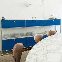 USM Haller Sideboard | Gentian Blue | Aparadores | USM
