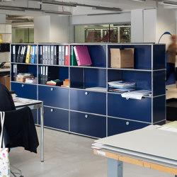 USM Haller Storage | Steel Blue | Armoires | USM