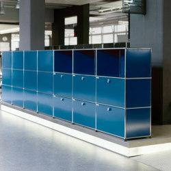 USM Haller Storage | Steel Blue | Armarios | USM