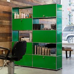 USM Haller Storage | USM Green | Armoires | USM