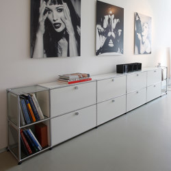 USM Haller Sideboard | Pure White | Buffets / Commodes | USM