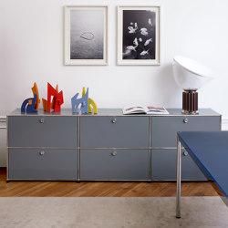 USM Haller Credenza | Mid-gray | Sideboards | USM