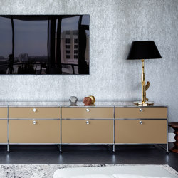 USM Haller Media | USM Beige | Multimedia sideboards | USM