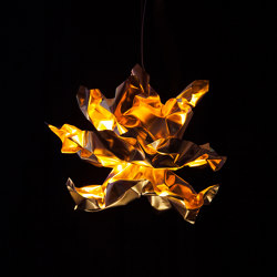 Lichtenfest gold | Suspended lights | Lichtlauf