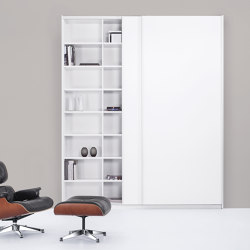 basic S Suspended door system | Armarios | werner works