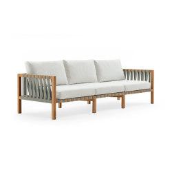 MISTRAL 103 3-Seater Sofa | Sofás | Roda