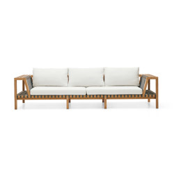 NETWORK 130 3-Seater Sofa | Canapés | Roda