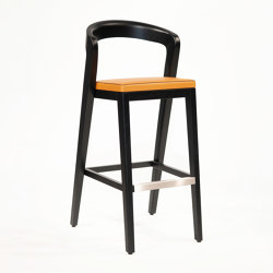 Play Barstool - Oak Dark | Sgabelli bancone | Wildspirit