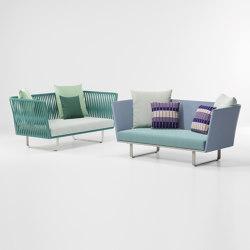 Bitta 2 seater sofa | Divani | KETTAL