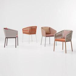 Bitta dining armchair | Sillas | KETTAL