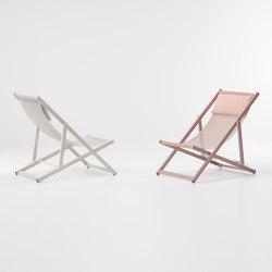 Landscape 4 positions folding transat | Armchairs | KETTAL