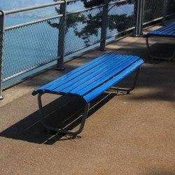 Landi Bench without backrest | Benches | BURRI