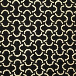 Mezzaluna col.105 nero/bianco | Drapery fabrics | Dedar