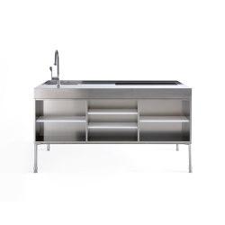 Artusi stove | Island kitchens | Arclinea